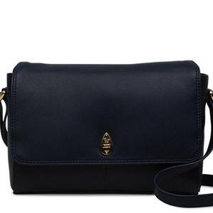 NWOT Authentic TULA leather crossbody bag.